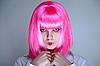 ID 3022193 | 일본어 메이크업을 가진 젊은 여자 | 높은 해상도 사진 | CLIPARTO