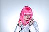 일본어 메이크업 매력적인 여자 | Stock Foto