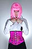 젊은 여자 동양 코르셋을 입고 | Stock Foto