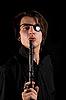 ID 3022249 | Schöner Pirat mit Augenklappe hält Gewehr | Foto mit hoher Auflösung | CLIPARTO