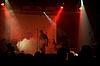 Rock concert, blurred unrecognizable musicians  | Stock Foto