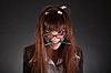 ID 3022375 | Wściekły businesswoman z złamanym ołówkiem | Foto stockowe wysokiej rozdzielczości | KLIPARTO