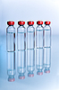 Photo 300 DPI: Vials with liquid for medicine or science