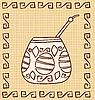 Calabash with Bombilla