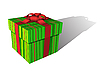 Vector clipart: Positive gift box