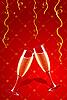 Векторный клипарт: бокалы шампанского