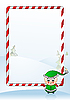 Vector clipart: Christmas greeting card