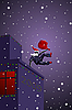 Photo 300 DPI: parkour Santa Claus