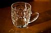 Photo 300 DPI: Empty beer mug