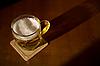 Photo 300 DPI: Beer mug on coaster
