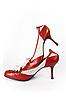 Moderne weibliche rote Schuhe | Stock Foto