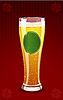 Vector clipart: beer glass
