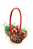 ID 3023267 | Basket with grass and eggs | High resolution stock photo | CLIPARTO