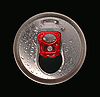 Close-up of aluminum drink can | Stock Foto