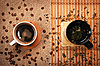 Té y café tazas | Foto de stock