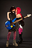 ID 3023364 | Two rock girls kissing | High resolution stock photo | CLIPARTO