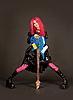 ID 3023382 | Romantic girl holding bass guitar | High resolution stock photo | CLIPARTO