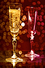 Two champagne glasses  | Stock Foto