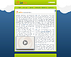 Vector clipart: website template