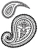 Vector clipart: paisley pattern