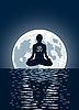 yoga and moon