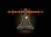 Vector clipart: yoga listening his heart