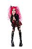 Photo 300 DPI: Attractive cyber gothic girl