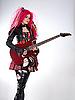 ID 3023714 | Gotisches Mädchen spielt Gitarre | Foto mit hoher Auflösung | CLIPARTO