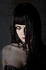 ID 3071146 | Young witch with yellow eyes | Foto stockowe wysokiej rozdzielczości | KLIPARTO