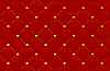 red leather background with hearts