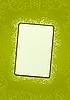 Vector clipart: green floral wallpaper