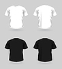 Vector clipart: set of t-shirts