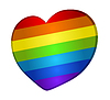 Vector clipart: rainbow heart