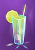 Vector clipart: summer cocktail, lemonade or juice