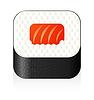 Vector clipart: sushi icon
