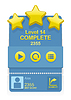 Level Complete game interface