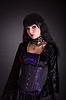 ID 5338001 | Attractive gothic girl in Victorian style clothes | High resolution stock photo | CLIPARTO