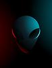 Vector clipart: simple an alien