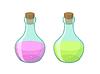 Vector clipart: two bottles