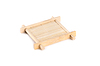 Photo 300 DPI: Bamboo teacup serving tray for tea ceremony