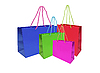 Photo 300 DPI: color shopping bags