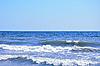 ID 3019873 | Ocean wave and clear blue sky  | Foto stockowe wysokiej rozdzielczości | KLIPARTO