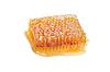 Фото 300 DPI: Желтый кусок пчелиных сот