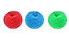 Photo 300 DPI: Balls of color knitting wool or yarn
