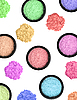 Multicolored cosmetics eyeshadows | Stock Foto