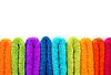 Ułożone kolorowe ręczniki | Stock Foto