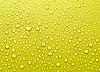 Piękne złote krople wody tło | Stock Foto