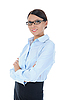Photo 300 DPI: Portrait of young businesswoman