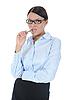 Młoda businesswoman | Stock Foto