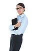 ID 3021599 | Kobieta z laptopem | Foto stockowe wysokiej rozdzielczości | KLIPARTO